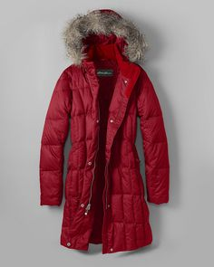 Shop Women's Lodge Down Parka at Eddie Bauer. Winter Fashion 2016, Fashion 2015, Street Fashion, Fall Fashion, Fashion Tips, Fur Vest Outfits, Womens Parka, Equestrian Outfits, Down Parka
