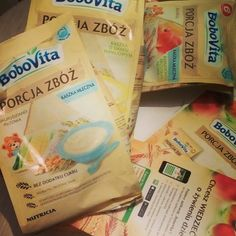 Testowanie kaszek Bobovita Porcja Zbóż :) #porcjazboz #bobovita #trnd
