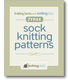 Woo, hoo....free sock knitting ebook.  Got mine.