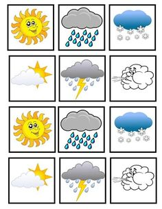 1 million+ Stunning Free Images to Use Anywhere Teaching Weather, Preschool Weather, Weather Activities, Teaching Time, Body Preschool, Preschool Learning, Learning Activities, Preschool Activities, Preschool Special Education