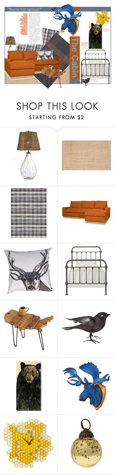 """""""No Time for Serious."""" by s-elle ❤ liked on Polyvore featuring interior, interiors, interior design, home, home decor, interior decorating, Loloi Rugs, Inspire Q, Art Classics LTD and Cultural Intrigue"""
