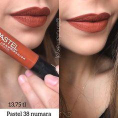 Kaydetmeler hazır mı  Rossmandan Pastelin bu rujunu 1375 e aldım zaten uzun zamandır aklımdaydı ve yanıltmadı beni rengi şahane   Kiremit mi desem bi güzel tonu var tabi dudaklarımı kuruttu biraz yine de bu renge değer . . . . . . . . . . . . . . . . . . . . . . . #lipstick#lip #makeup #instagood #instagram #like4like #lips #lipmatte