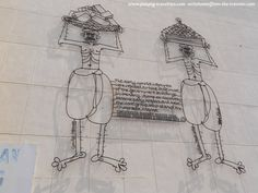 Labourer to Trader is a iron-rod sculpture installed on the wall of Chowrasta Market, in George Town, Penang. Borneo, Street Art, George Town, Sculpture, Marketing, Sculptures, Sculpting, Statue, Carving