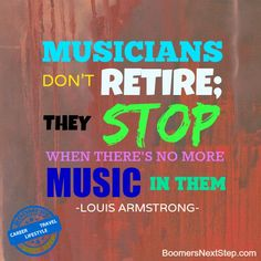 Helping you navigate worklife transitions to achieve the life you want. We guide you in retirement planning to create the life you want. Louis Armstrong, Career Change, Retirement Planning, Musicians, Facts, Lifestyle, Travel, Viajes, Destinations