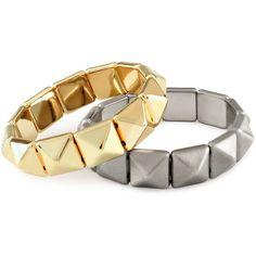 H 2-pack bracelet ($11) ❤ liked on Polyvore