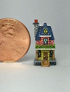 OOAK Miniature Dollhouse Bliss Victorian Doll House Nursery Toy   | eBay