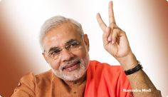 Narendra Modi, Prime Minister of India, another world leader who is a Southpaw