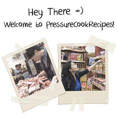 Amy + Jacky's Story   Pressure Cook Recipes