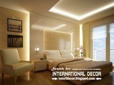 plaster ceiling designs for bedroom ceiling, modern plaster ceiling led lights
