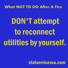 Tips for after a fire! #housefire #fire #tipsafterafire