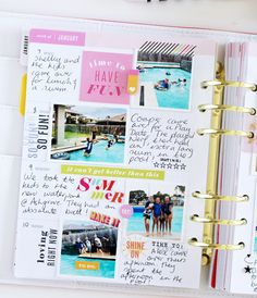 I love a fresh new year in my Heidi Swapp Memory Planner . It's always exciting opening up my planner at January knowing another year of my. Storyline Ideas, Arc Notebook, Silhouette Cameo Tutorials, Planner Pages, Planner Ideas, Learn Calligraphy, Heidi Swapp, Planner Organization, Corporate Gifts