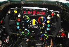 f1 steering wheels | Formula 1 technology and art