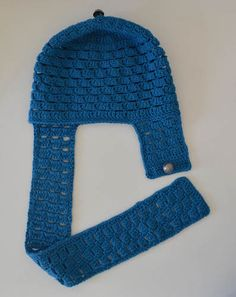 Aviator hat free #crochet pattern by @ucrafter