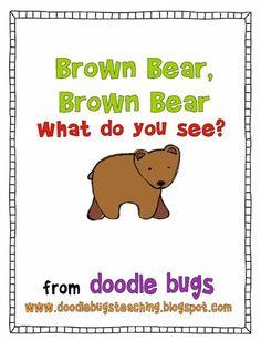 Tons of Brown Bear, Brown Bear activities