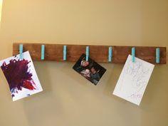 Sweet Stella's: DIY Ombre Wall Art Display