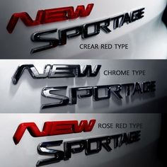 Detailpart NEW 3D Emblem Select One Of 3 Type DEK-G63F For All Cars #Detailpart