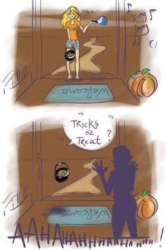 Annabeth's Halloween by Ninitel.deviantart.com on @deviantART