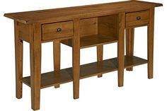 Attic Heirlooms Sofa Table by Broyhill at Crowley Furniture in Kansas City
