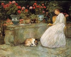 Reading - Childe Hassam