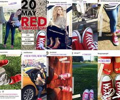 ‪May 20th is International Red Sneakers Day. Mark the day by posting a picture of yourself in your red sneakers or organize a group photo with your friends and supporters wearing #redsneakersforoakley