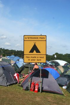 Will vincents Glade Festival Road signs 2011