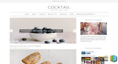 CockTail Simple Blogger Template