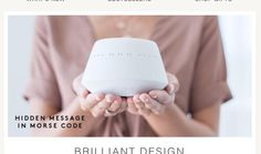 BRILLIANT DESIGN – FORM & FUNCTION.  Feeling so honoured to be chosen to be the #1 product in AHALife's latest daily inspiration called form and function brilliant design.