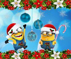It's so sparkly Minion Christmas, Christmas Art, Christmas Humor, Christmas Clipart, Minions Images, Minion Pictures, Minions Quotes, Minion Card, Cute Minions