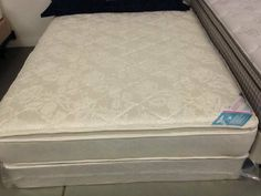 queen mattress and boxspring set luxury double pillowtop furniture