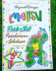 Bullet Journal, Cover Pages, Manualidades