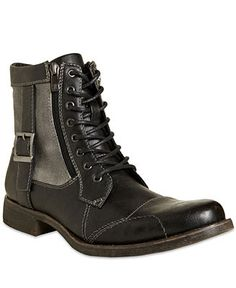 Madden Boston Double Zip Boots - Boots - Men - Macy's