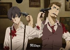 Avilio and Nero- 91 Days - I am literally so obsessed with this anime. New favourite 10/10 would recommend