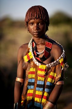 500px / Photo Hamar girl - Ethiopia by Steven Goethals