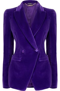Dsquared2 Velvet Blazer (€1.135) ❤ liked on Polyvore featuring ...