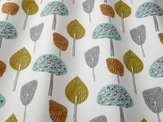 iLiv Scandi Trees fabric<br />We recommend a sample of this fabric if colour is important to you as colours on different screens may vary.