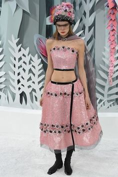 Couture Spring2015 Chanel DonneVincenti Pink