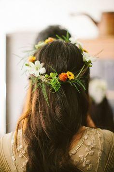 Corona de flores #kiero