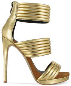 Mia Limited Edition Kiara Platform Sandals - Shoes - Macy's
