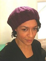 Ravelry: Slouchy cabled beret pattern by Silk Wings