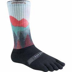 Spectrum Trail 2.0 Midweight Crew - Sierra Spectrum è la nuova collezione dai colori vivaci della linea Trail. Le calze Injinji Trail sono state progettate per il terreno irregolare, per offrire il miglior comfort e protezione in qualsiasi scarpa.