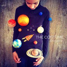 Image result for solar system costume