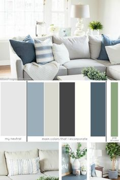 how to choose a whole house color scheme | color palette for the home | home decor colors