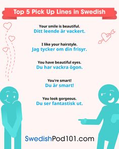 Pick Up Lines in Swedish