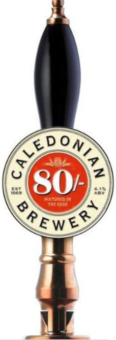 Caledonian Brewery - Caledonian 80/-  4,1% hana/pullo