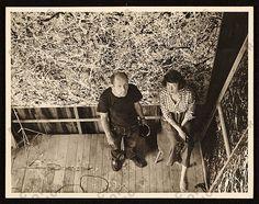 #Lee Krasner #Jackson Pollock