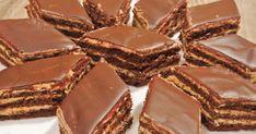 Astăzi, drag amator ale bucatelor delicioase, vă prezentăm o rețetă reușită de prăjituri fine, cu o cremă extrem de delicioasă. Combinația ingenioasă a blaturilor de ciocolată cu crema de lapte condensat nu va lăsa pe nimeni indiferent. Din cele mai accesibile ingrediente veți obține un desert gustos și apetisant, care se prepară foarte simplu. Pregătiți deliciul ispititor și uimiți familia dragă. INGREDIENTE PENTRU ALUAT – 180 g de făină cernută – 3 linguri pudră de cacao – 1 linguriță ... Baking Recipes, Cake Recipes, Homemade Sweets, Desert Recipes, No Bake Cake, Food To Make, Deserts, Food And Drink, Favorite Recipes