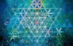 Flower of life in colour <3