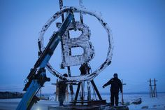 The city may soon be famous for a different type of mining though — it now hosts the Arctic's first crypto farm for producing new Bitcoins. #bitcoin #crypto #cryptocurrentcy #bitcoinbruja Buy Bitcoin, Bitcoin Price, Earn Free Money, Commodity Futures, Commodity Market, Human Settlement, Arctic Circle, Photo Essay, Blockchain