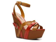 Sole Obsession Maggie-08 Wedge Sandal All Women's Clearance Women's Clearance - DSW