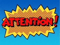 attention inscription comic book style pop art retro Set contains: - one JPG file pixels - one file Illustration Pop Art, Illustrations, Desenho Pop Art, Overlays, Comic Art, Comic Books, Kids Background, Pop Art Wallpaper, Book Works